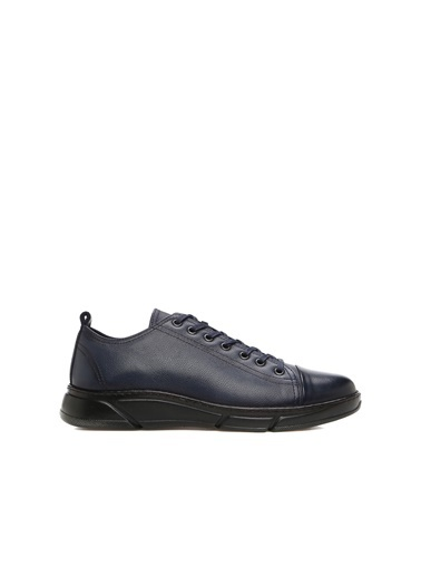 Divarese 5025018 Erkek Deri Ayakkabı Lacivert